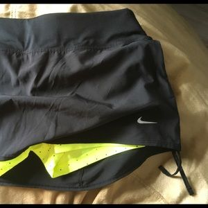 Nike Dri-Fit running skirt with built in shorts